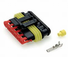 6 way Female Superseal Connector - Qty 1  *FROM £2.90 EACH!*   CLICK HERE FOR MORE DISCOUNTS!