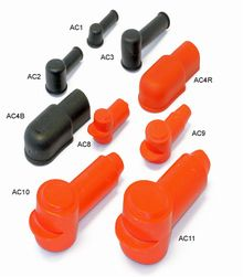 Rubber Boots for Battery Isolators & Copper Tube Terminals 11mm.  *FROM £0.55 EACH!*   CLICK HERE FOR MORE DISCOUNT