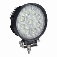 Super Bright Square or Round 9 x 6W COB LED Work Lamp - 12/24V, 4500Lm, IP69K  **ONLY £24.95 EACH!**