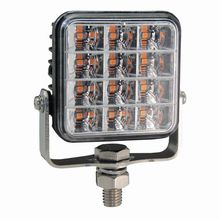 R65 Square 12 Amber LED Warning Light  *SPECIAL OFFER £16.95!*