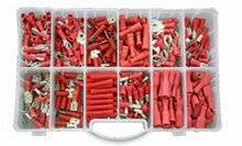 MIXED BOX RED INSULATED TERMINALS 1X280