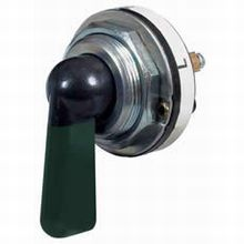 Indicator Switch or 3 Way Rotary Switch with Green Illuminated Lever - 6A at 12V    £16.30!