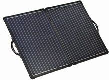 80W 12V lightweight folding solar charging kit with MPPT controller