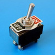 Toggle Switch 20 amp - Marked 'On/Off'    Qty 1